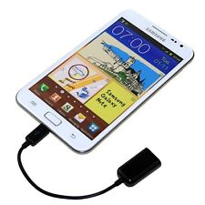 Micro USB 2.0 Host OTG Adaptor Adapter Cable Cord Lead For Dell Tablet PC XPS 10