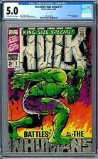 Incredible Hulk Annual #1 Cgc 5.0 (Ow-W) Classic Cover