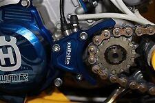 Filtros de aire color principal azul para motos Husqvarna