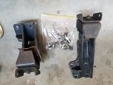 Holden Commodore VL RB30 Engine Mounts + Brackets Pair LHS RHS 6cyl bolts