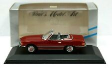 Minichamps 430033432 1:43 1970-80 Mercedes-Benz 350 SL Red MIB DB