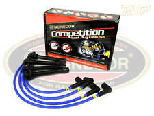 """Magnecor 8mm Ignition HT Leads Wires Cable Ford Sierra 2.9i V6 4x4 19.5"""" Coil Ld"""