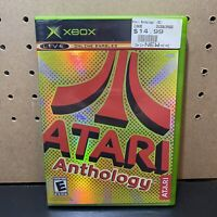 Atari Anthology (Microsoft Xbox, 2004) Complete w/ Manual - Tested