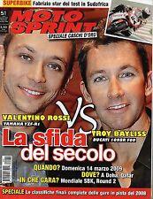 MotoSprint.Valentino Rossi Troy Bayliss,Caschi d'oro 2008,Superbike Kyalami,iii