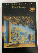 "THE MOODY BLUES ""THE PRESENT"" VINTAGE 1983 TOUR BOOK PROGRAM"