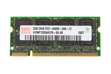 2GB PC Laptop Computer Memory Ram DDR2-800MHz PC2-6400 SO-DIMM SDRAM for Hynix