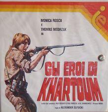 Pellicola, Film, Super 8 mm - GLI EROI DI KHARTOUM - 3 BOBINE COLORE SONORO