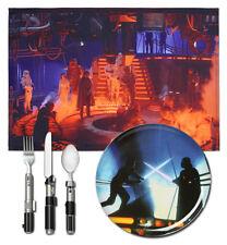 Disney Star Wars NEW Cloud City Dinner Set Flatware Vader Luke Skywalker