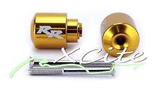 Gold barends bar ends Honda CBR CBR250 CBR600 CBR900 CBR1000 #BE069#