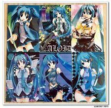Hatsune Miku Vocaloid Lot De 6 Cartes Postal III 初音ミク