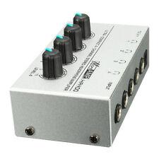 HA400 4 Channel Ultra-compact Headphone Audio Stereo Amp Microamp Amplifier O9I6
