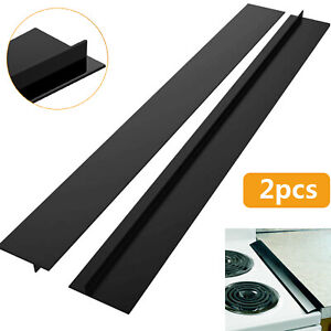 Silicone Kitchen Stove Counter Gap Cover Oven Guard Spill Seal Slit Filler 1~2x