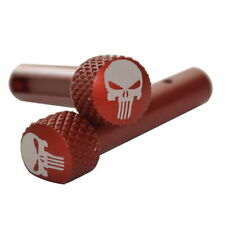 Punisher Extended Takedown Pin - Red - Front  & Rear .223 5.56 6.8