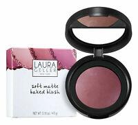 Laura Geller Soft Matte Pink Blusher Baked BLUSH In ROMANTIC ROSE 4.5g Boxed