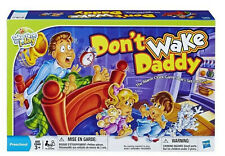 Don't Wake Daddy Preschool Game for Kids Ages 3+ By Hasbro NEW