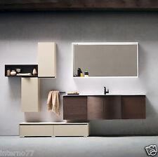 JACANA JA29 – Mobile luxury arredo bagno L.71+140+70 cm personalizzabile COMPAB