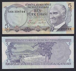 Turchia 5 turk lirasi 1976 SPL+/XF+  A-05