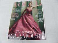 British VOGUE UK Fashion Magazine November 2017 Claire Foy Runway Jewelry