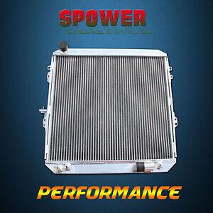 Aluminum Radiator For Toyota Hilux LN130 LN106 LN107 2.4 2.0 Surf AT/MT 88-97 2R