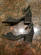 Steve Madden Irene Black Heel 8