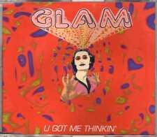 Glam - U Got Me Thinkin' - CDM- 1996 - Italodance Ricci Moratto Testoni Rizzatti