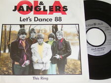 """7"""" - Ola & Janglers Let´s Dance 88 & This Ring # 1726"""
