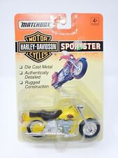 Matchbox Motor Cycles Harley-Davidson, Sportster Yellow Sealed Pack NEW