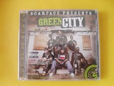 SCARFACE PRESENTS - GREEN CiTY - 2008 - HiP HOP CD - NEW & SEALED iMPORT! TEXAS!