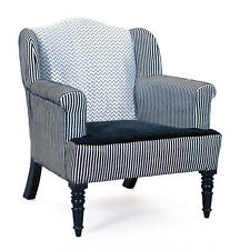 Edler breiter Sessel Samtbezug aus Massivholz für das Wohnzimmer Schlafzimmer...