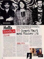 Hello, Goodbye Grant Hart & Husker Du Mojo Mag Cutting