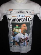 youth L Mens S vtg 1995 Orioles Baltimore Cal Ripken T SHIRT for jersey USA MLB