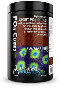 Brightwell Xport PO4 Cubes 16.9oz Ultra Activated Phosphat-Adsorptionsmedium