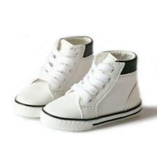 1/3SD Boy BJD Shoes Sneaker Flat Middle Top Board Shoes Street Boy Double Colors