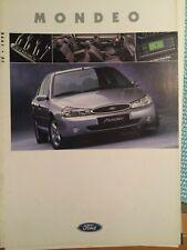 Gesamt Prospekt/Broschüre Ford Mondeo 1998  28 Seiten  Top