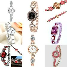 Ladies Women Dress or casual Wrist watch Mixed design Steel band Analog Quartz