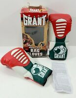 VTG Grant Quick Lace Bag Boxing Gloves Lghtwt Open Thumb L/XL Evander Holyfield