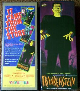 AURORA Reissue Frankenstein Model Kit (1999)