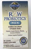 Garden of Life - Dietary Supplement RAW Probiotics - Men FORMULAR 90 Caps