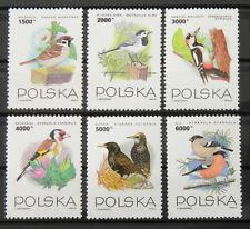 - Polen Poland 1993 Mi. Nr. 3458-3463 ** postfrisch MNH Vögel birds