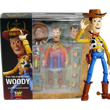"""Toy Story Woody Legacy of Revoltech 6"""" Action Figure Disney Kaiyodo Doll New"""