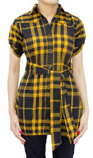Short Sleeve V Neck Tunic, Kaftan Women's Tops & Shirts Not Multipack