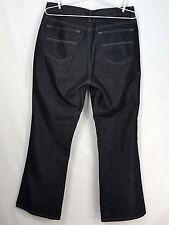 Venezia Usa Black Jeans Plus Size 16 Women's Dark Shine Finish Pants (35 x 33)