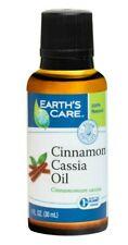 Earth's Care Pure Cinnamon Cassia Essential Oil, Steam-Distilled 1 FL OZ