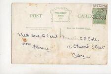 Master CF Cole Church Street Calne 1905 498b