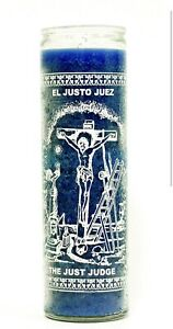 Just Judge /Justo Juez BLUE Truth & Justice 7 Day Candle