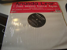 "RAR MAXI 12"". AMANDA LEAR. I JUST WANNA DANCE AGAIN"