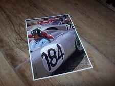 Photo  / Photograph Graham Hill PORSCHE Targa Florio  1960  //