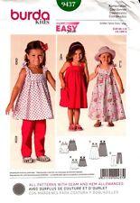 Burda Sewing Pattern 9437 Burda KIds Dress and Pants