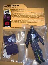 GI Joe SCDD Convention Exclusive Cobra Transformers Destro New Rare