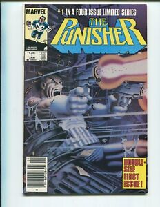 The Punisher #1 - 1st Solo Punisher Series - Date Stamp on Back Cover!